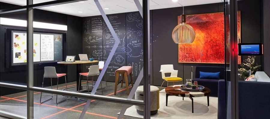 spaces for creativity in the company