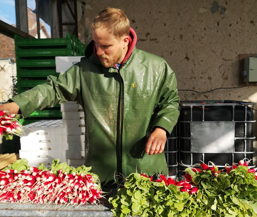 """I practice 100% organic farming."